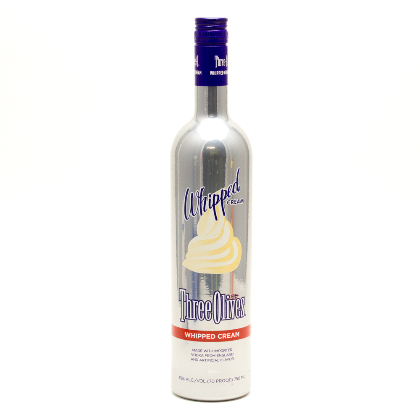 Three Olives - Whipped Cream Vodka - 750ml