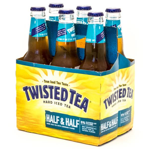 Twisted Tea - Hard Iced Tea Half & Half - 12oz Bottle - 6 Pack