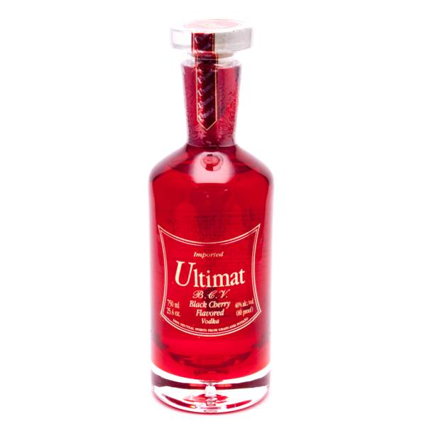 Ultimat - Black Cherry Vodka - 750ml