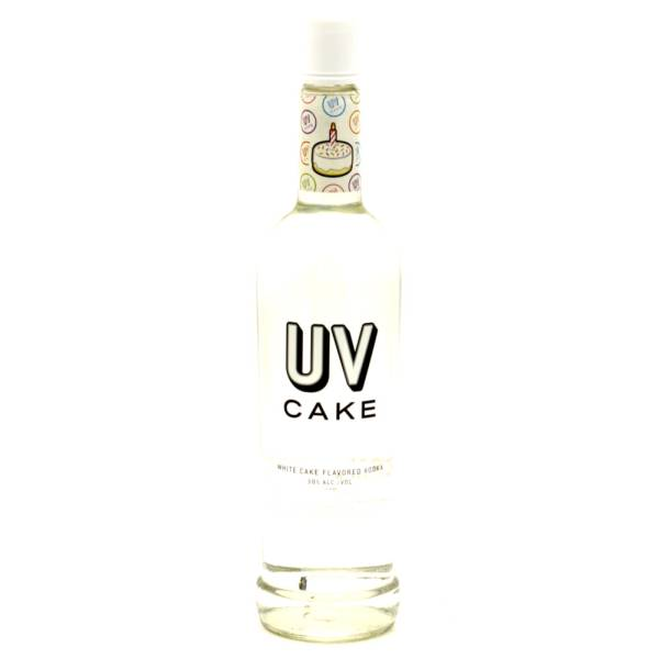 UV - Cake White Cake Flavored Vodka - 750ml