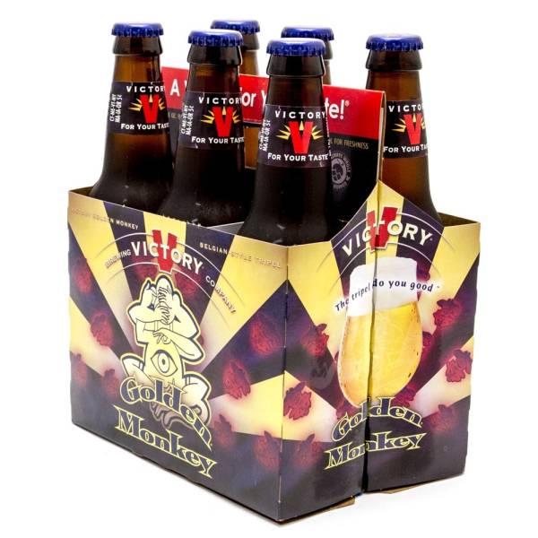 Victory - Golden Monkey Belgian-Style Tripel - 12oz Bottle - 6 Pack