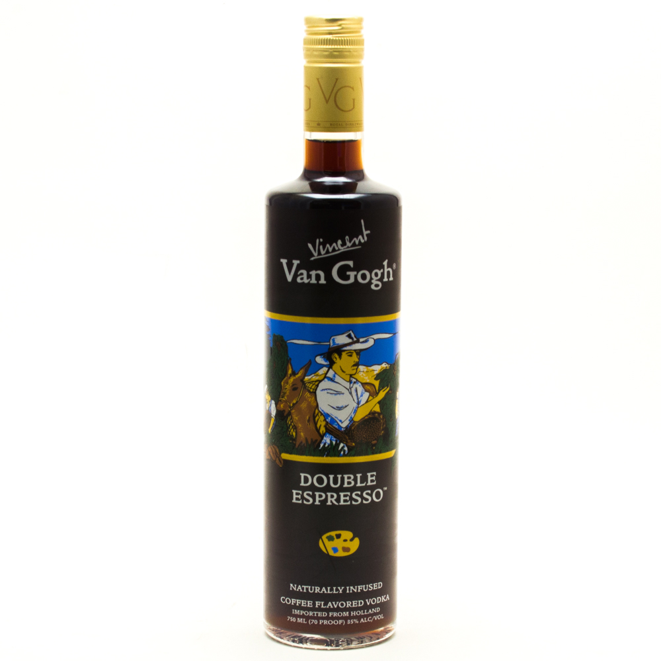 Vincent Van Gogh - Double Espresso Vodka - 750ml.