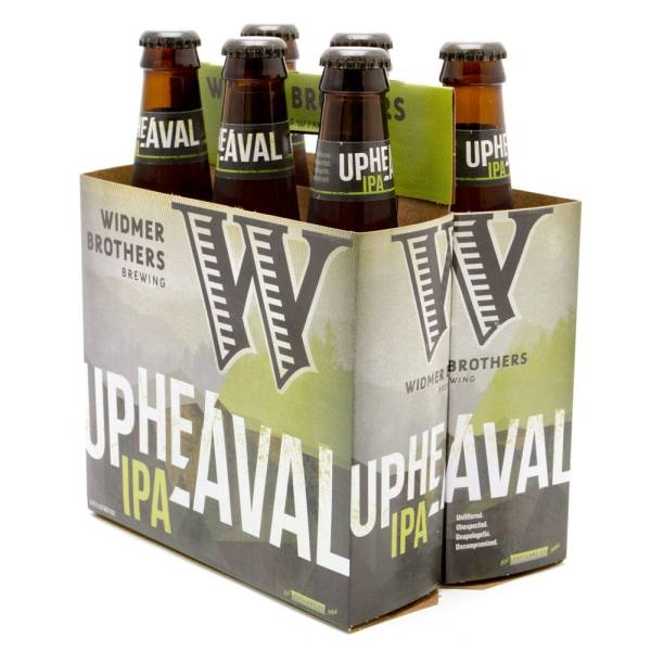Widmer Brothers - Up Heavel IPA - 12oz Bottle - 6 Pack