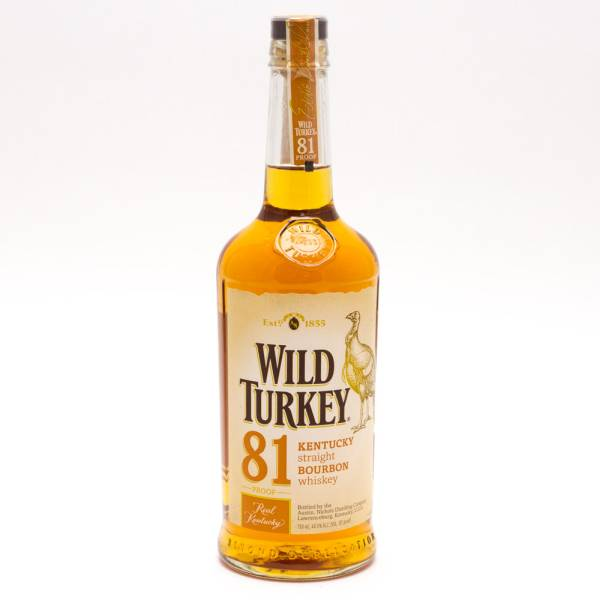 Wild Turkey - 81 Kentucky Bourbon Whiskey - 750ml