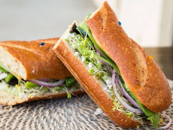Hangover Hoagies - Veggie Sandwich - 14 in