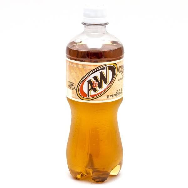 A&W - Cream Soda - 16.9 fl oz