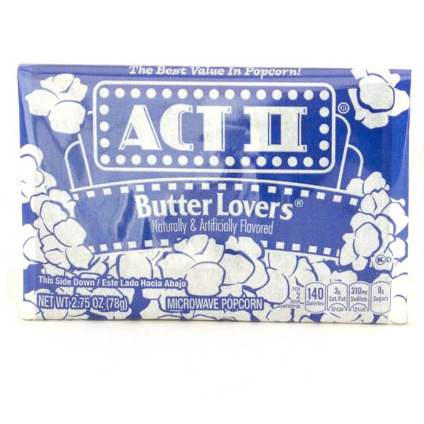 Act II Butter Lovers - 2.75oz