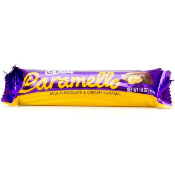 Cadbury Caramello - Milk Chocolate & Creamy Caramel - 1.6oz