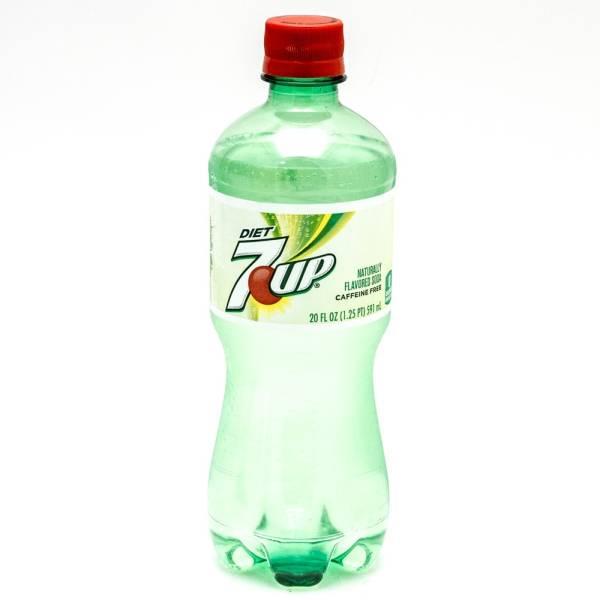Diet 7Up - 20 fl oz