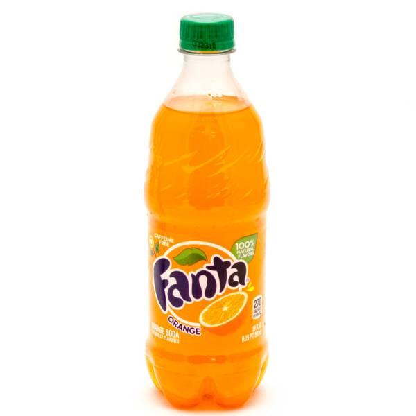 Fanta - Orange Soda - 20fl oz
