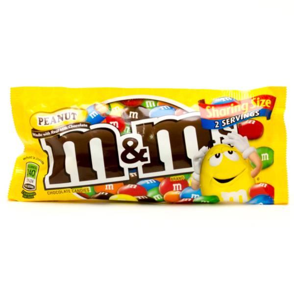 M&Ms - Peanut Sharing Size - 2 Servings - 1.63oz