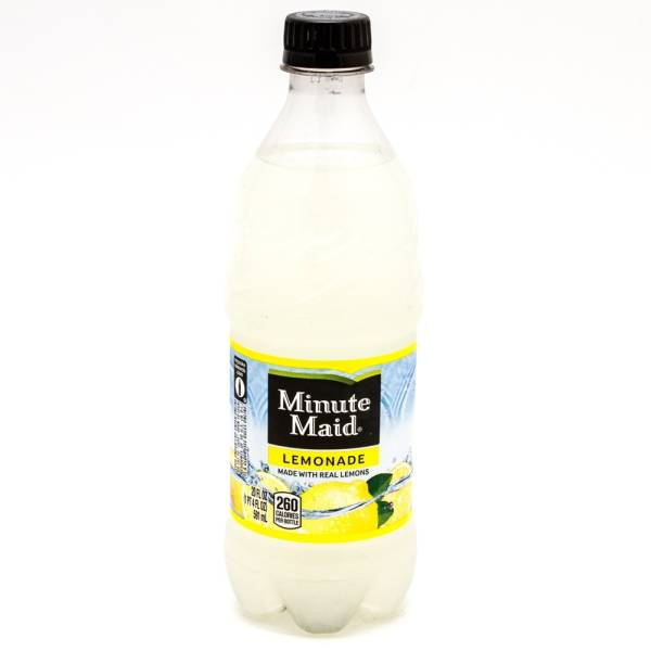 Minute Maid - Lemonade - 20 fl oz