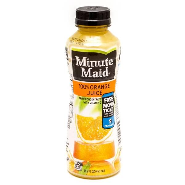 Minute Maid - Orange Juice - 15.2 fl oz