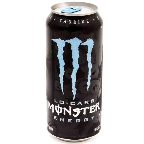 Monster - Energy Drink - Lo-Carb - 16 fl oz