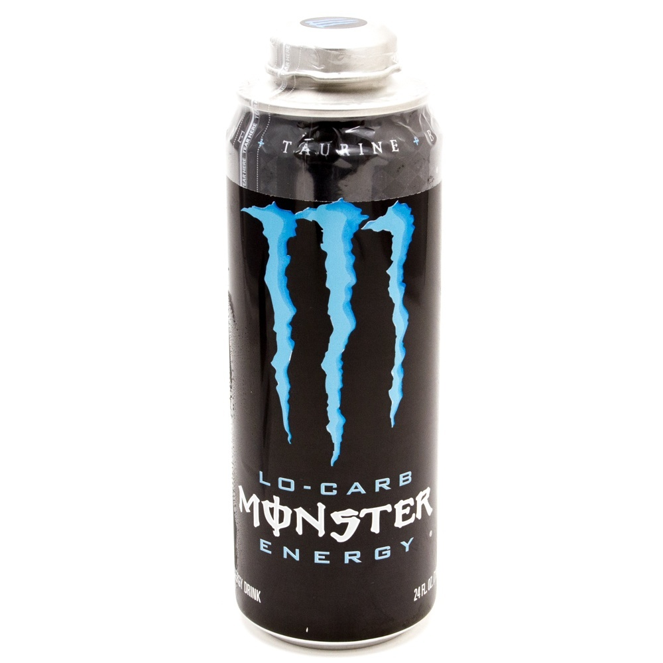 Monster - Energy Drink - Lo-Carb 24 fl oz