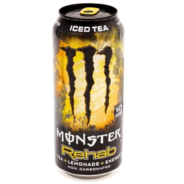 Monster - Rehab - Energy Drink - Tea+ Lemonade - 16 fl oz
