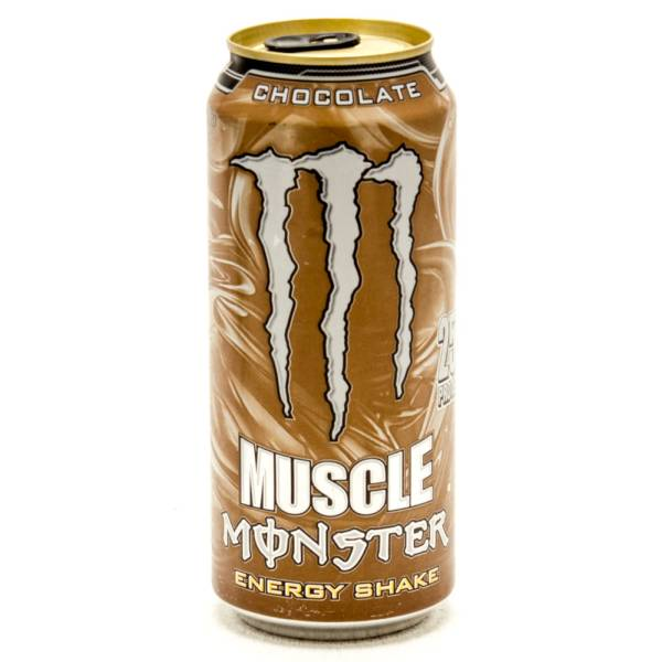 Muscle Monster - Energy Shake - Chocolate - 15fl oz