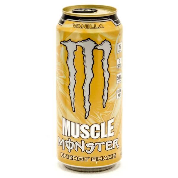 Muscle Monster - Energy Shake - Vanilla - 15fl oz
