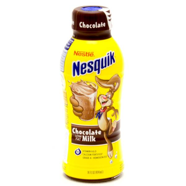 Nestle nesquik chocolate milk low fat 14fl oz beer wine and nestle nesquik chocolate milk low fat 14fl oz sciox Choice Image