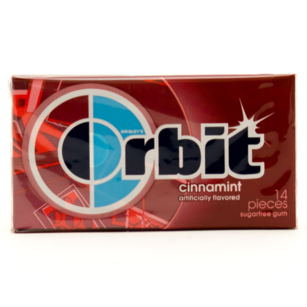 Orbit - Cinnamint Sugarfree Gum - 14 Pieces