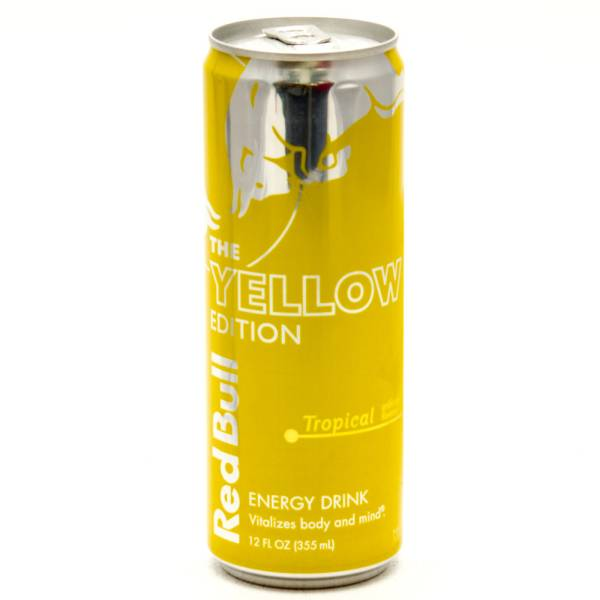 red bull the yellow edition tropical 12fl oz beer. Black Bedroom Furniture Sets. Home Design Ideas