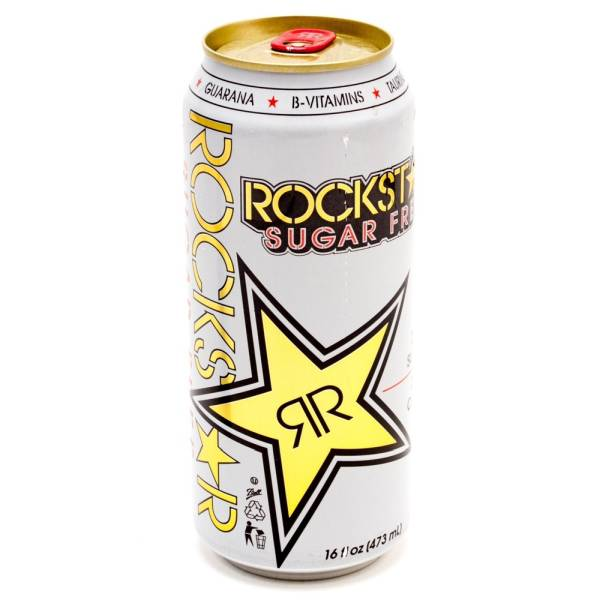 Rock Star - Sugar Free - Energy Drink - 16 fl oz