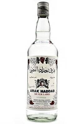 Arak Haddad Silver Label 750ml