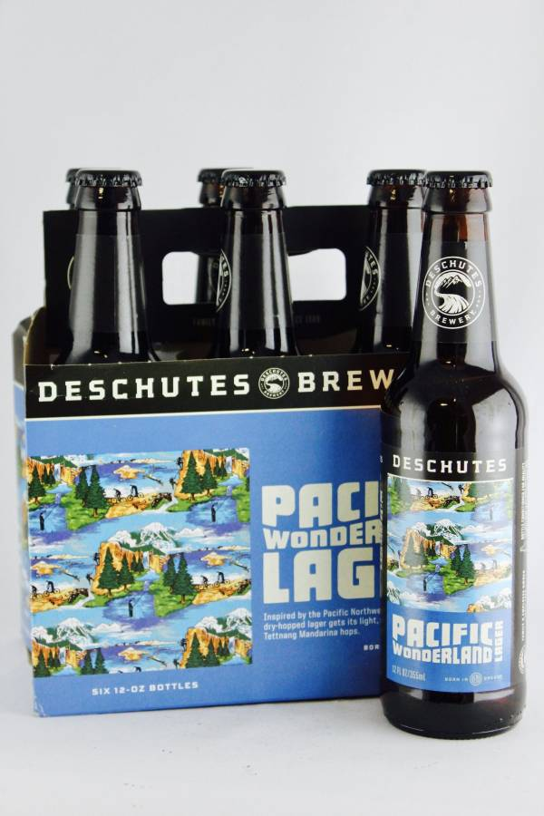 Deschutes - Pacific Wonderland Lager - 12oz Bottle - 6 Pack