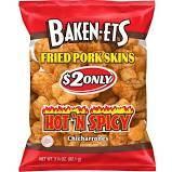 Baken-Ets - Fried Pork Rinds - Hot n Spicy