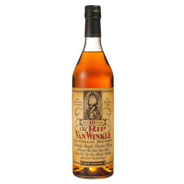 Old Rip Van Winkle- 10 years- Handmade Bourbon-107 Proof
