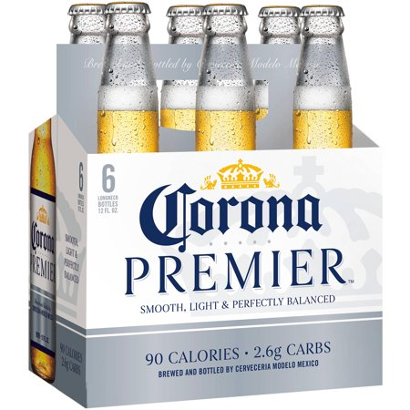 Corona Premier - Imported Beer - 12oz Bottle - 6 Pack