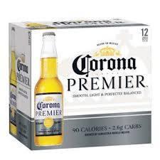Corona Premier - Imported Beer - 12oz Bottle - 12 Pack