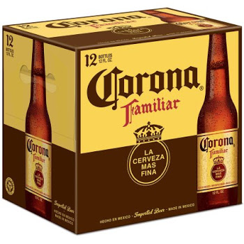 Corona familiar - Imported Beer - 12oz Bottle -12 Pack