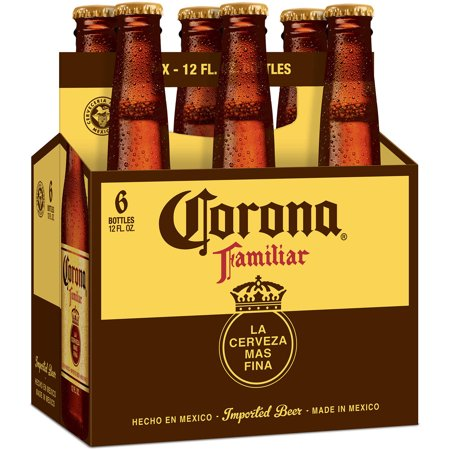 Corona familiar - Imported Beer - 12oz Bottle -6 Pack