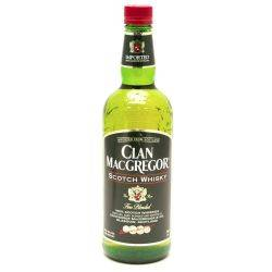 Clan MacGregor - Scotch Whiskey - 750ml