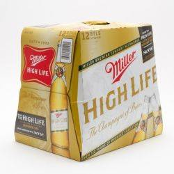 Miller - High Life - 12oz Bottle - 12...