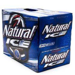 Natural Ice - Beer - 12oz Can - 30 Pack