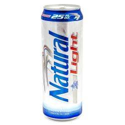 Natural Light - 25oz Can