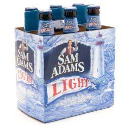 Sam Adams - Light - 12oz Bottle - 6 Pack
