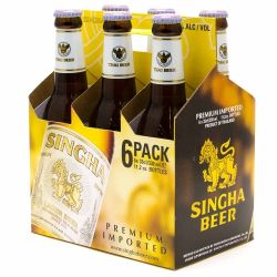 Singha - Lager Beer - 11.2oz Bottle -...