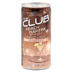 The Club - Peach Martini - 200ml