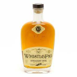 Whistle Pig - Stright Rye Whiskey -...
