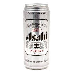 Asahi - Japanese Beer - 33.8oz Can