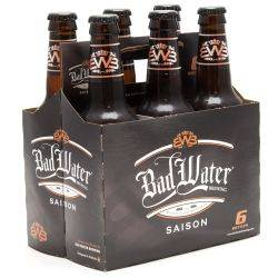 Bad Water - Saison - 12oz Bottle - 6...