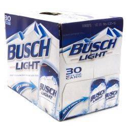 Busch Lite - 12oz Cans - 30 Pack