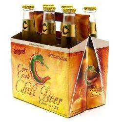 Cave Creek - Chili Beer - 12oz Bottle...