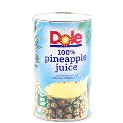 Dole - Pineapple Juice - 46oz Can