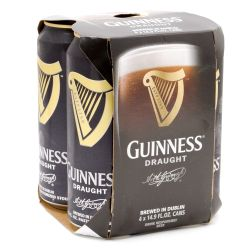 Guinness - Draught - 14.9oz Can - 4 Pack