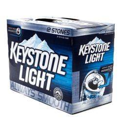 Keystone Light - 12oz Can - 12 Pack