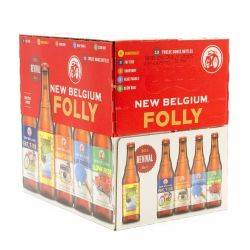 New Belgium - Folly Variety Pack -...